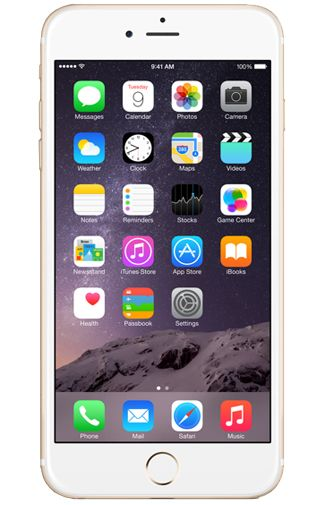 Productafbeelding van de Apple iPhone 6 Plus 16GB Certified Pre-Owned Gold