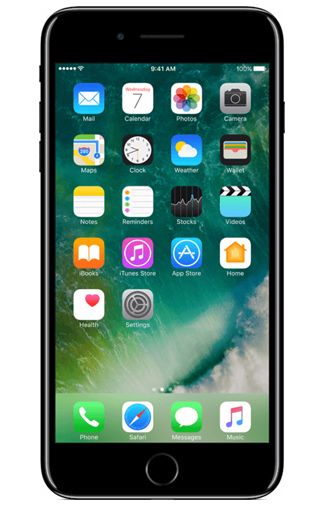 Productafbeelding van de Apple iPhone 7 Plus 256GB Jet Black