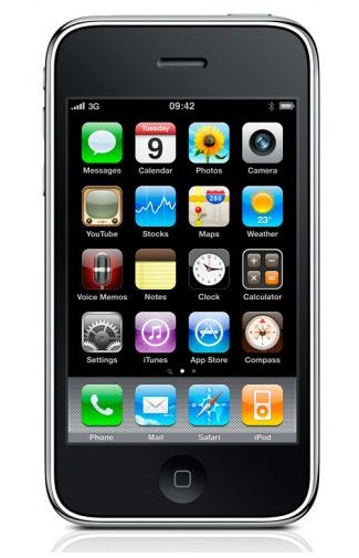 Productafbeelding Apple iPhone 16 GB 3GS Black