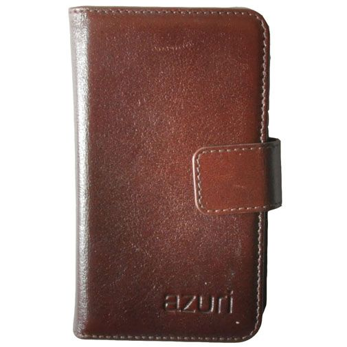 Azuri Wallet Dark Brown iPhone 5/5S