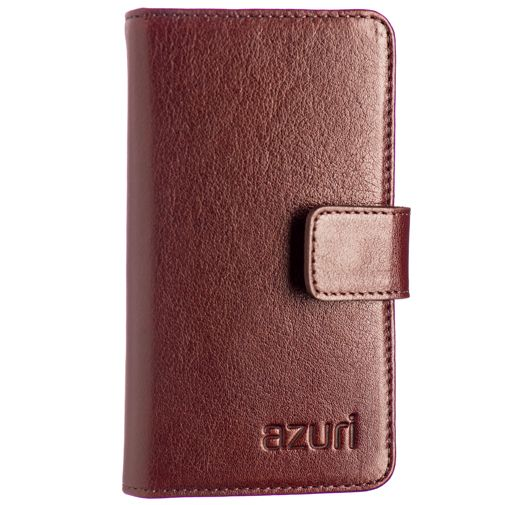 Azuri Wallet Light Brown iPhone 4/5