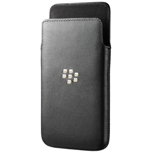 BB10 Leather Pocket Black