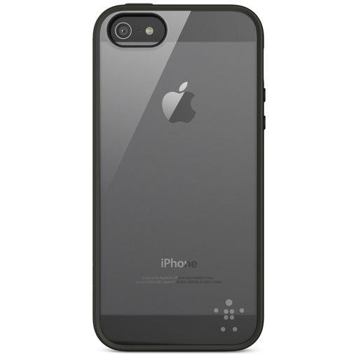 Belkin Backcase Apple iPhone 5/5S/SE Transparant/Zwart