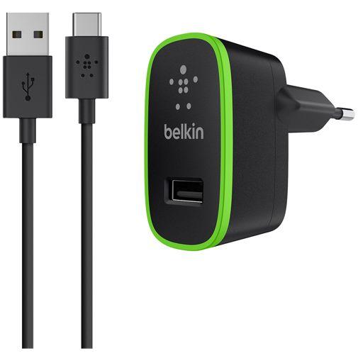 Belkin Thuislader USB-C 2.1A Black