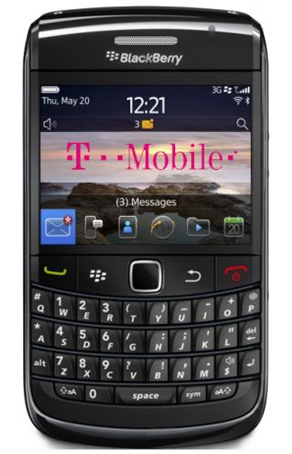 Productafbeelding BlackBerry Bold 9780 Black T-Mobile