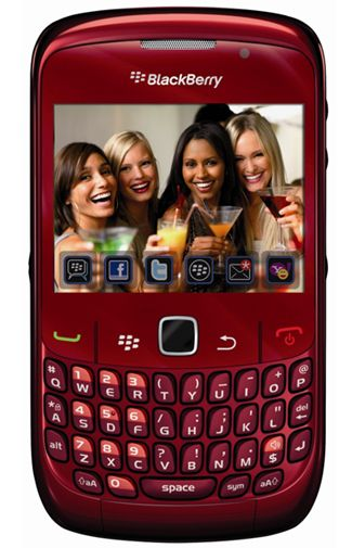 Productafbeelding BlackBerry Curve 8520 Red