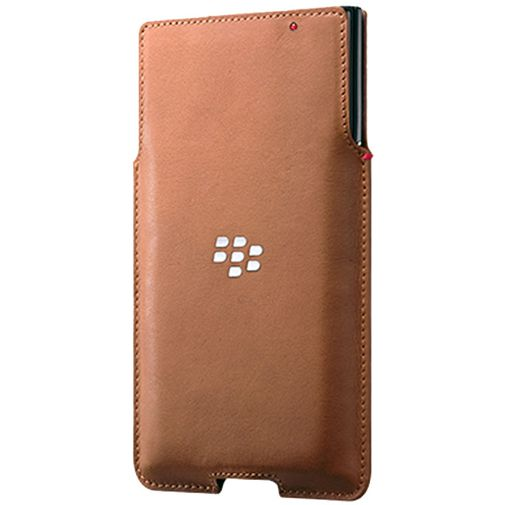 BlackBerry Leather Pocket Tan BlackBerry Priv