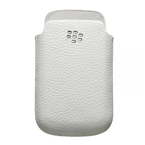 BlackBerry Leather Pocket White 8520/9300/97xx