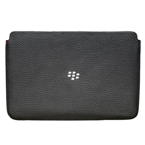 BlackBerry Leather Sleeve Playbook Black