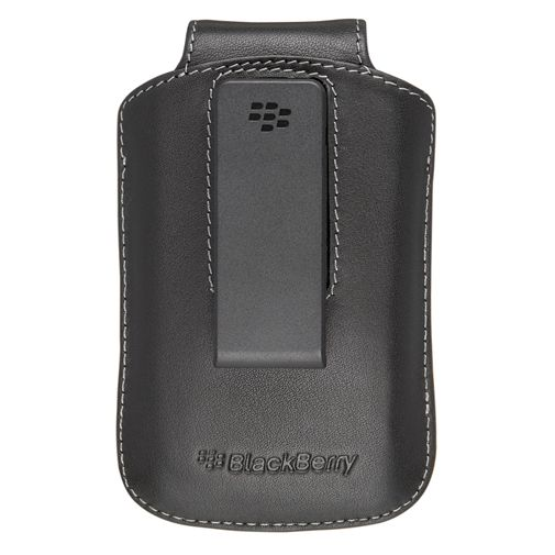 BlackBerry Leather Swivel Holster Black 8500/8900/97xx