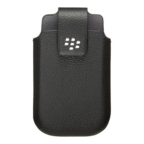 BlackBerry Leather Swivel Holster Black Torch 9800/9810