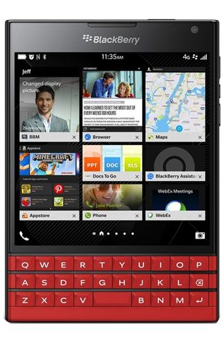 BlackBerry Passport Red