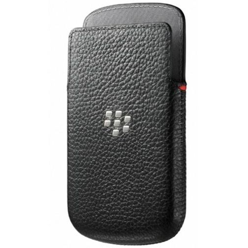 BlackBerry Q10 Leather Pocket Black