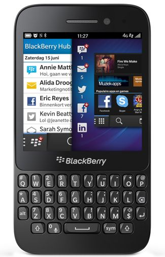 Productafbeelding van de BlackBerry Q5 Black