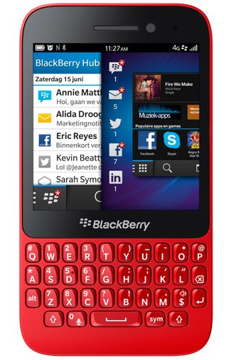 Productafbeelding BlackBerry Q5 Red