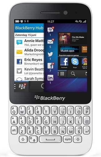 Productafbeelding BlackBerry Q5 White