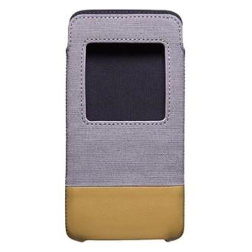 BlackBerry Smart Pocket Grey Tan DTEK50