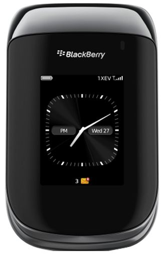Productafbeelding van de BlackBerry Style 9670 Black