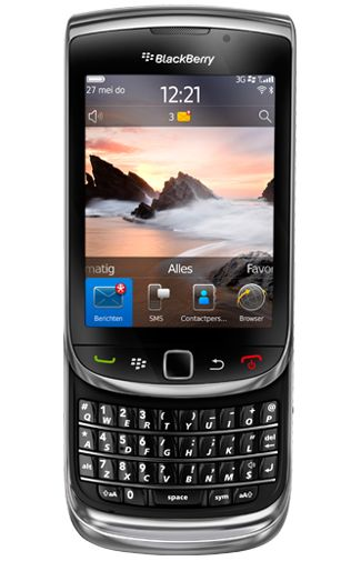 Productafbeelding BlackBerry Torch 9800 Black