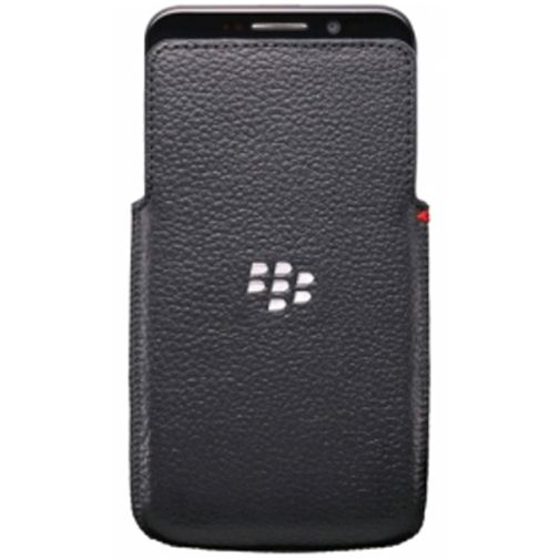 BlackBerry Z30 Leather Pocket Black