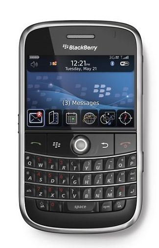 Productafbeelding BlackBerry Bold 9000 Vodafone Black