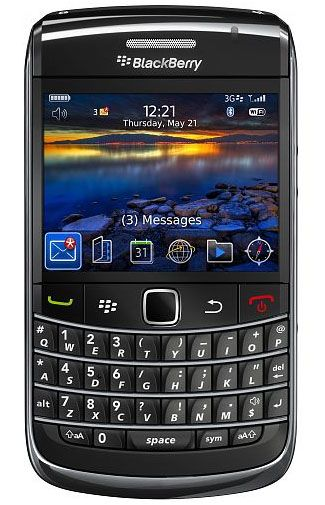Productafbeelding BlackBerry Bold 9700 KPN Black