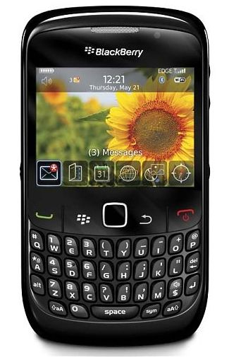 Productafbeelding BlackBerry Curve 8520 Black HI