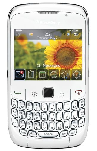 Productafbeelding BlackBerry Curve 8520 White KPN