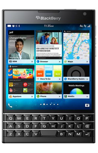 Productafbeelding BlackBerry Passport Black