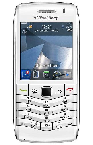 Productafbeelding BlackBerry Pearl 9105 White