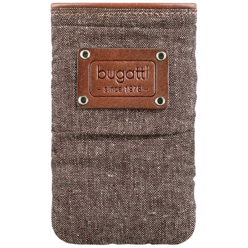Bugatti Elements Pouch Saddle Brown XL