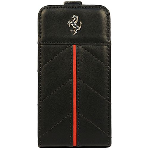CG Mobile Ferrari Flip Case Apple iPhone 5 Black Red