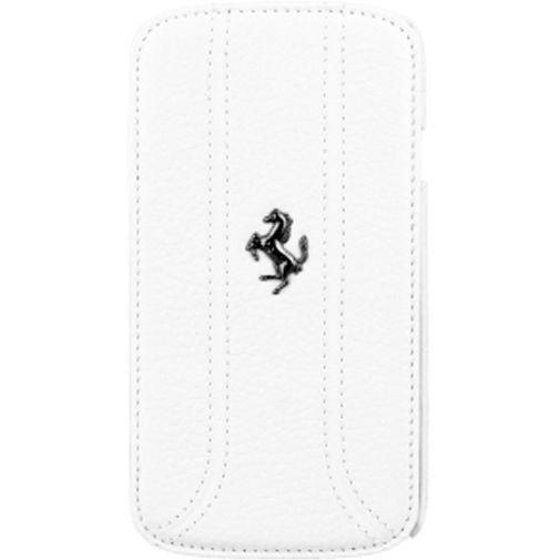 CG Mobile Ferrari Flip Case Samsung Galaxy S4 White