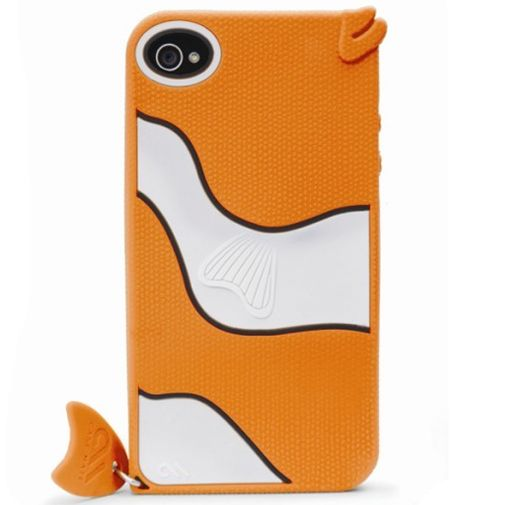 Productafbeelding van de Case Mate Apple iPhone 4 Creatures Gil Fish Orange