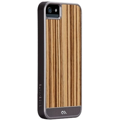 Case-Mate Artistry Apple iPhone 5/5S Woods Zebrawood