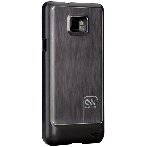 Case Mate Barely There Brushed Aluminum Silver Samsung Galaxy S II