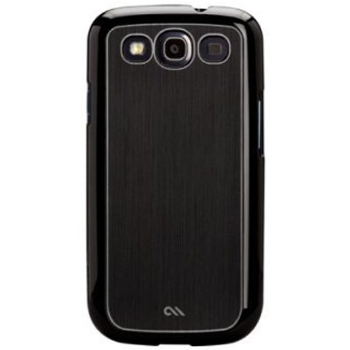Productafbeelding van de Case-Mate Barely There Case Aluminium Black Samsung Galaxy S3 (Neo)