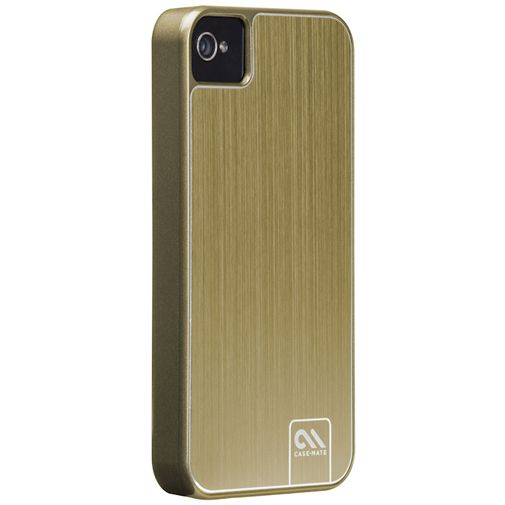 Case-Mate Barely There Case Aluminium Gold Apple iPhone 4/4S