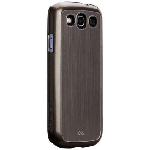 Productafbeelding van de Case-Mate Barely There Case Aluminium Silver Samsung Galaxy S3 (Neo)