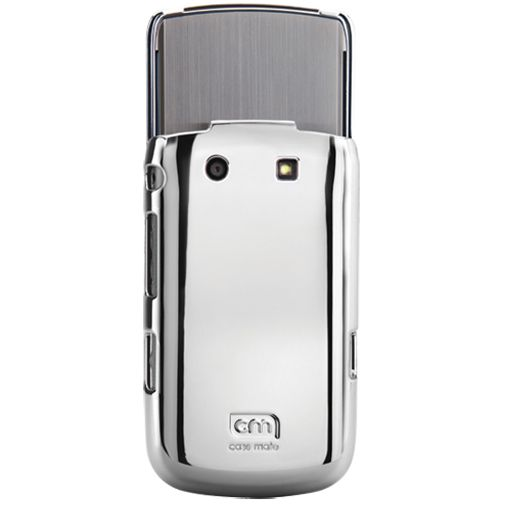 Case Mate Barely There Metallic Silver BlackBerry Torch 9800