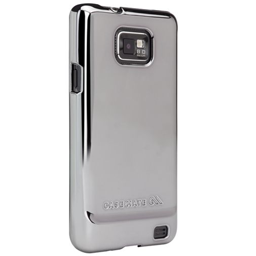 Case Mate Barely There Metallic Silver Samsung Galaxy S II