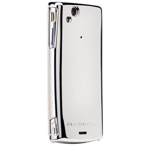 Case Mate Barely There Metallic Silver Sony Ericsson Xperia Arc
