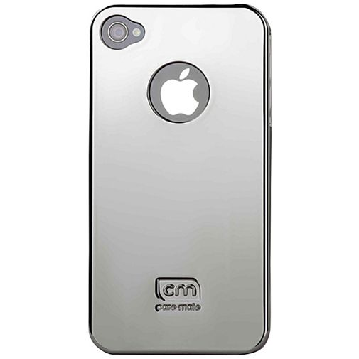 Case Mate Barely There Metallic Silver iPhone 4