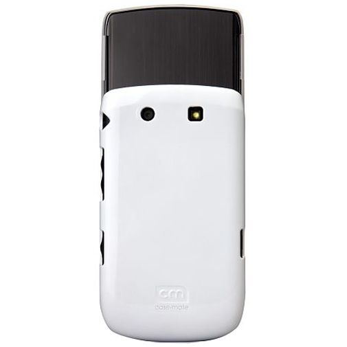 Case Mate Barely There White Glossy BlackBerry Torch 9800