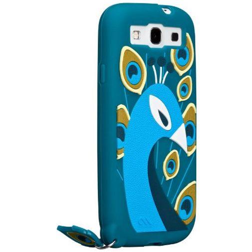 Productafbeelding van de Case-Mate Creatures Peacock Samsung Galaxy S3 (Neo)