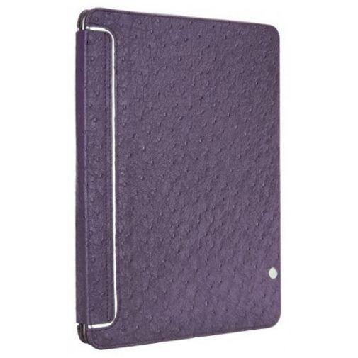 Productafbeelding van de Case Mate Faux Ostrich Venture Case Purple Apple iPad 2