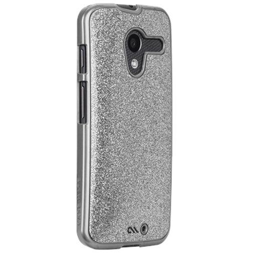 Productafbeelding van de Case-Mate Glimmer Case Silver Motorola Moto X