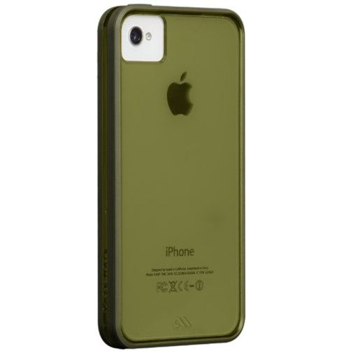 Productafbeelding van de Case-Mate Haze Case Green Apple iPhone 4/4S