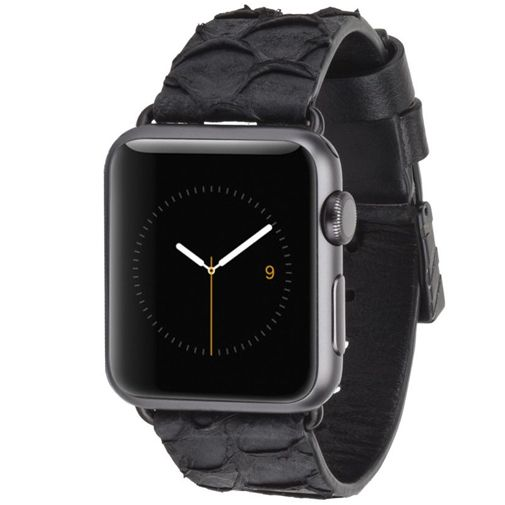 Case-Mate Scaled Polsband Black Apple Watch 38mm