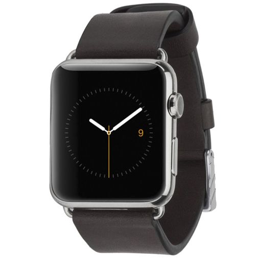 Case-Mate Signature Leather Polsband Black Apple Watch 42mm